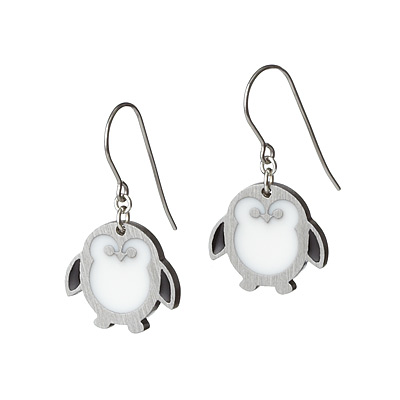 PENGUIN EARRINGS