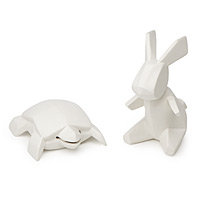 porcelain tortoise and hare banks