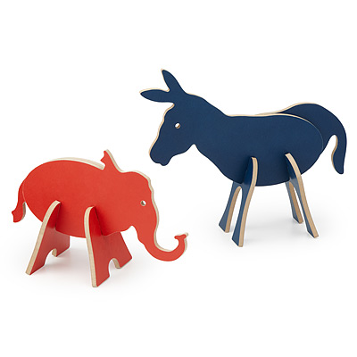ELECTION YEAR 3D WOOD PUZZLE