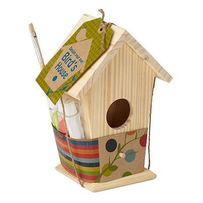 MAKE YOUR OWN BIRDHOUSE KIT