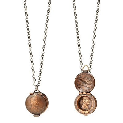 PENNY LOCKET NECKLACE