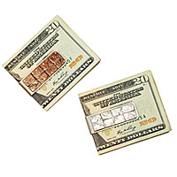 Patchwork Coin Money Clips
