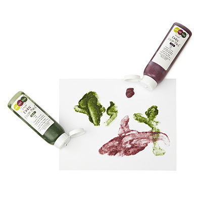 VEGGIE FINGER PAINT - SET OF 5