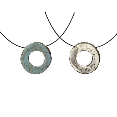 EARTHENWARE REVERSIBLE NECKLACES