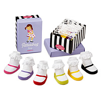 Jitterbug Jenny Infant Socks - Set of 6