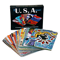 The USA Project Playing Cards