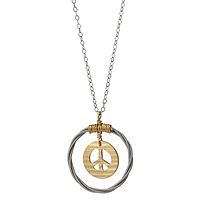 CYMBAL OF PEACE PENDANT
