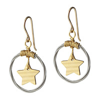 STAR CYMBAL EARRINGS