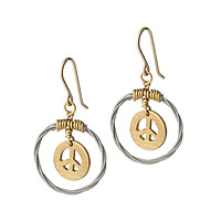 Cymbal of Peace Earrings