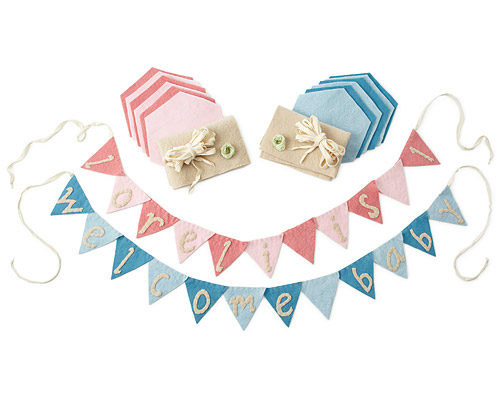 BABY SHOWER BANNER KITS