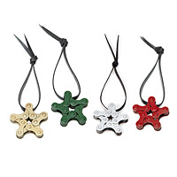 Holiday Bike Chain Star Ornaments