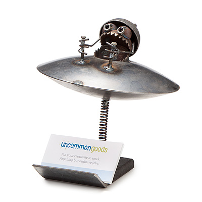 UFO BUSINESS CARD HOLDER