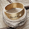 Personalized Love Birch Cuff