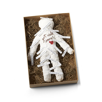 GET WELL GOOD VOODOO DOLL