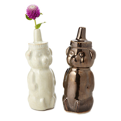 HONEY BEAR VASE