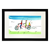Personalized Couple Tandem Bike Art