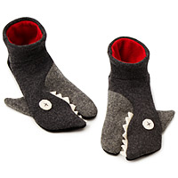 Handmade Shark Slippers