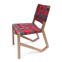 Achilles White Oak Web Chair