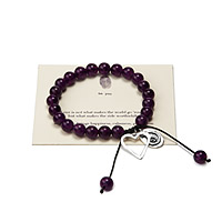 Love Makes the Ride Worthwhile - Stone Bracelet