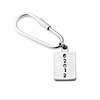 Personalized ZIP Code Keychain