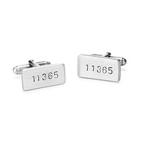 Personalized ZIP Code Cufflinks