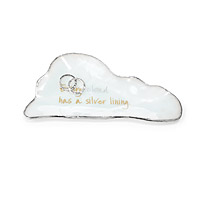 Silver Lining Cloud Mini Dish