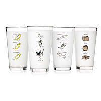 Video Kitty Tumblers - Set of 4