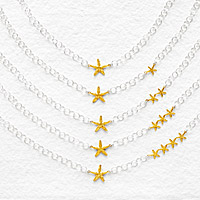 MY LUCKY STARS NECKLACE