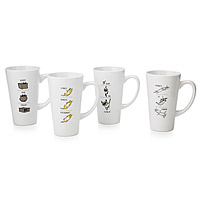 VIDEO KITTY MUGS - SET OF 4