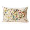Birds and Blooms Pillows - US Map