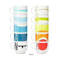 EARTH SCIENCE STACKING CUPS - SET OF 5
