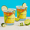 Margarita Diagram Glassware - Set of 2