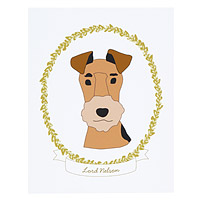 Personalized Pet Cameo Portrait