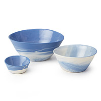 Nesting Cloud Bowls - Set of 3