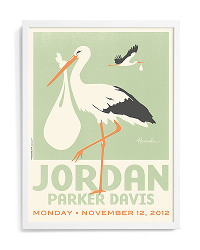 STORKS PERSONALIZED ART