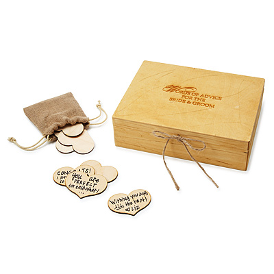 WEDDING GUESTBOOK BOX