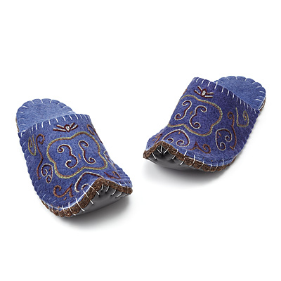 BABOUCHE WOOL SLIPPERS
