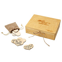 Personalized Wedding Guestbook Box