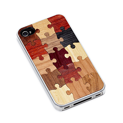 WOODEN PUZZLE IPHONE CASE