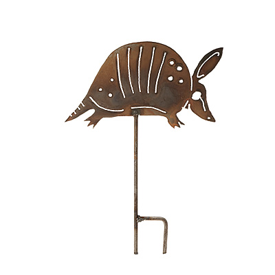 ARMADILLO LAWN SCULPTURE
