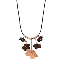 Forget Me Not Upcycled Copper Necklace