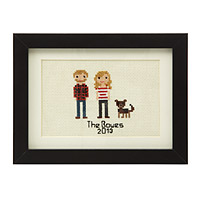 Custom Cross Stitch People Portrait