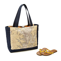 Custom Map Tote Bag