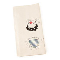 TEACUPS TOWEL