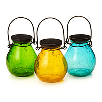 Bubble Glass Solar Lanterns