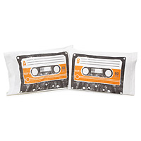 Mix Tapes Pillow Case Set