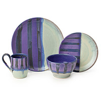 Wintertide Stoneware Dishware Collection