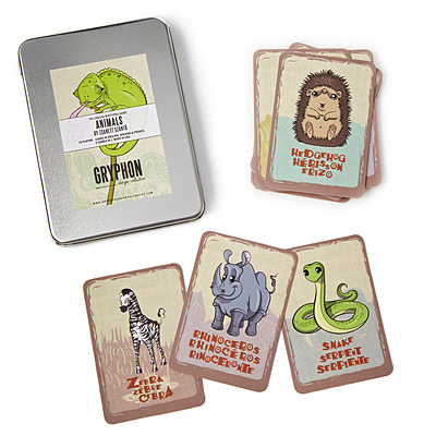 TRI-LINGUAL CARD GAMES