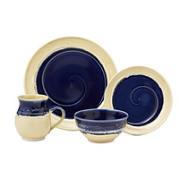 Ocean Wave Porcelain Dishware Collection