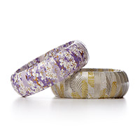 ORIGAMI PAPER WRAPPED BANGLE